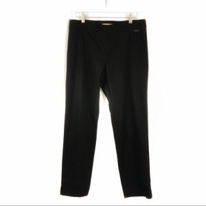 Tory Burch Black Callie Skinny Ankle Pants